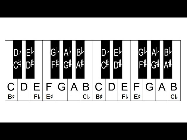Piano Lesson 4: How To Label Piano Keys Part 4