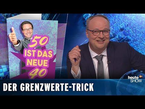 Dieselautos: Die Groko weicht die Abgas-Grenzwerte auf | heute-show vom 15.03.2019
