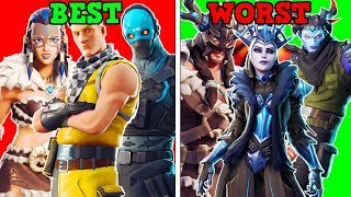 RANKING EVERY *NEW LEAKED* SKINS + ITEMS FROM WORST TO BEST! (Fortnite Battle Royale!)