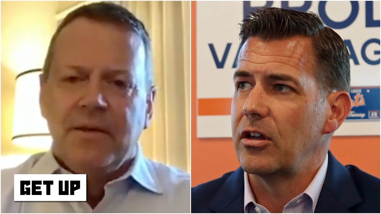Reacting to Mets GM Brodie Van Wagenen's apology for his comments on Rob Manfred | Get Up