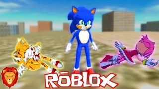 THE TRISTE STORY OF THE SONIC PELICULA IN ROBLOX SPANISH SONIC PELICULA IN ROBLOX LEON PICARON