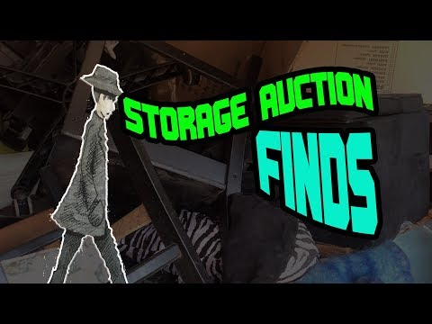 LETS LOAD UP THE VAN WITH STORAGE AUCTION FINDS