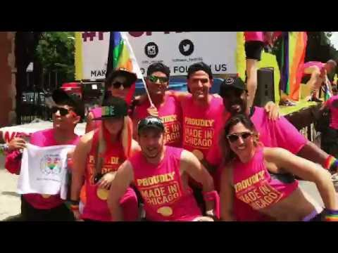 Fitness Formula Clubs At The 2016 Chicago Pride Parade
