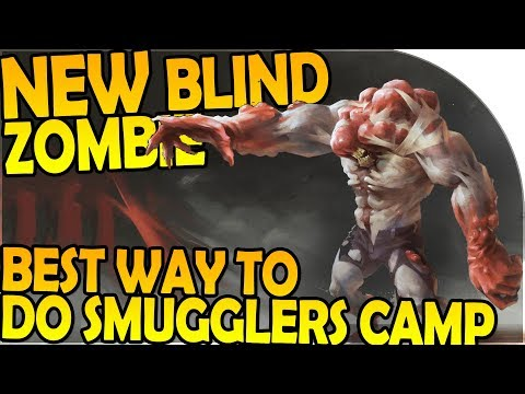 NEW BLIND ZOMBIE INBOUND + BEST WAY TO DO SMUGGLERS CAMP - Last Day On Earth Survival 1.6.4 Update