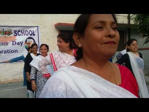 Children's Day Celebration in AMU Girls School