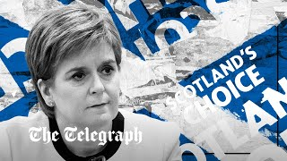 video: Most Scots do not want an early referendum, as support for independence slides