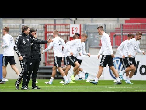 WELT DOKUMENT: DfB - Marco Reus und Niklas Süle zum Länderspiel gegen Holland