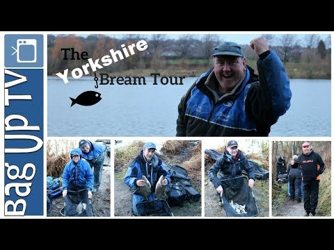 The Yorkshire Bream Tour - Final Round - Elsecar Reservoir - BagUpTV - Match Fishing
