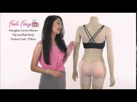 03b05949ddb Feel Foxy Hourglass Curves Silicone Hip and Butt Panty - YouTube