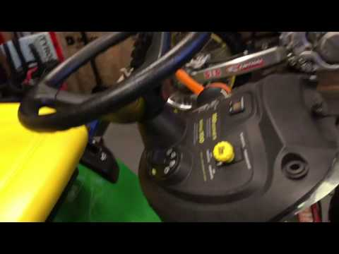 How to fix rough running john deere lawn tractor
