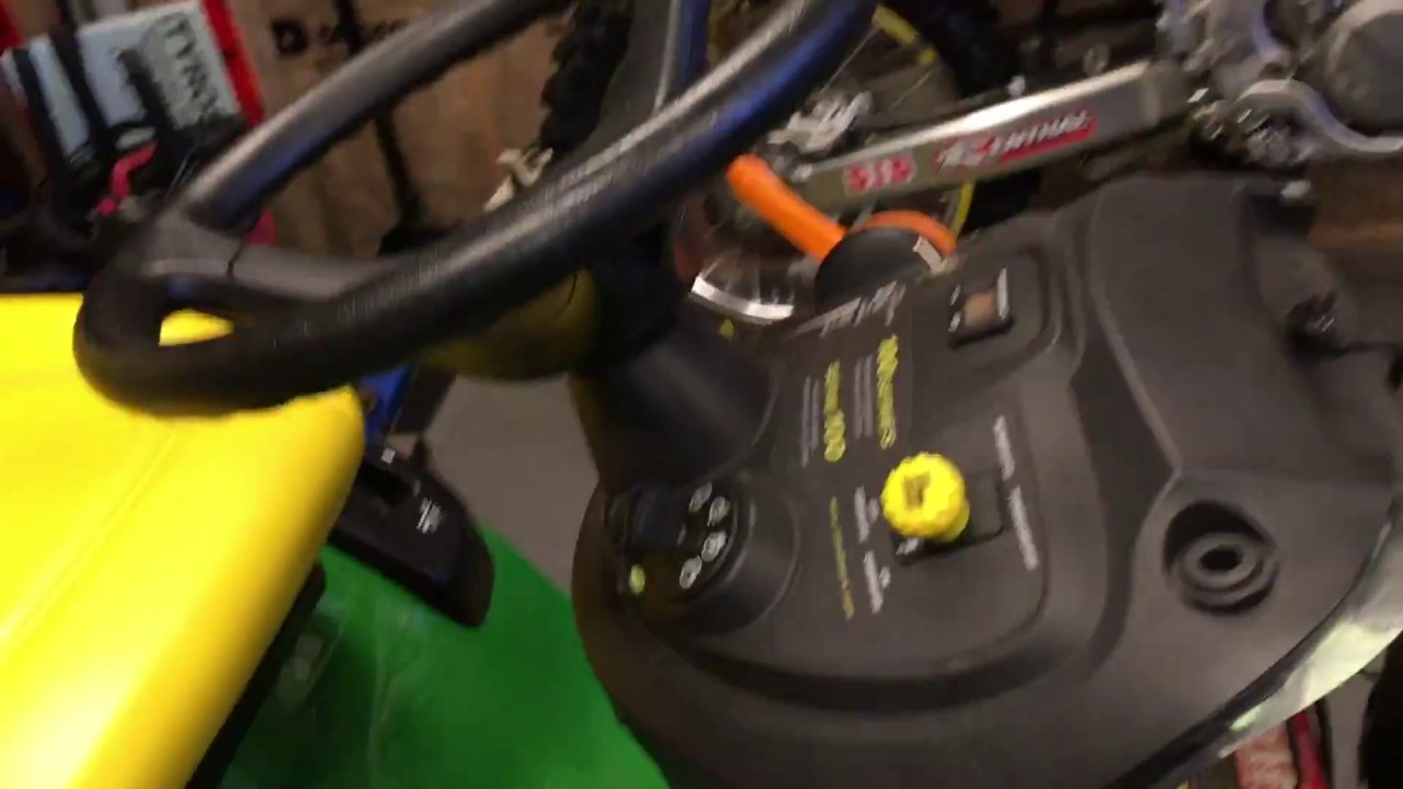 How To Fix Rough Running John Deere Lawn Tractor Youtube Wiring Diagram On And It Here