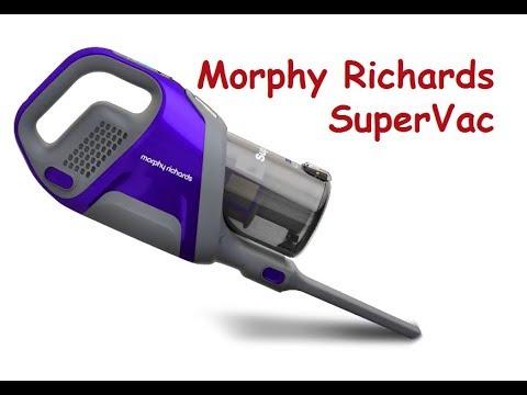 Беспроводной пылесос Morphy Richards SuperVac 734050 - мощный и долгоиграющий