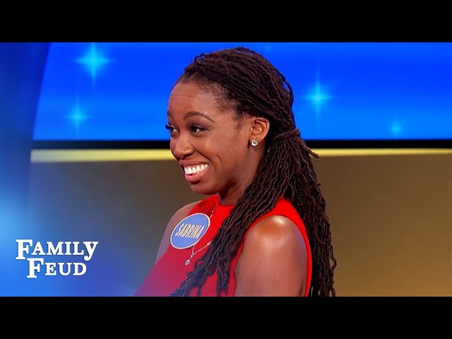 This question seemed easy... | Family Feud