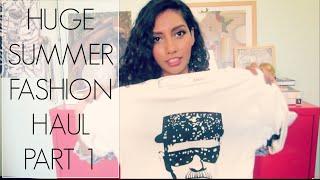 HUGE Summer Fashion Haul (Part 1): Sheinside, Zara, ASOS, H&M, Urban Outfitters & More Thumbnail