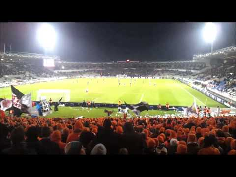 ORANGE KAOS FRANKFURT in Bordeaux – Fanmarsch und Stadionsupport UEFA EURO LEAGUE