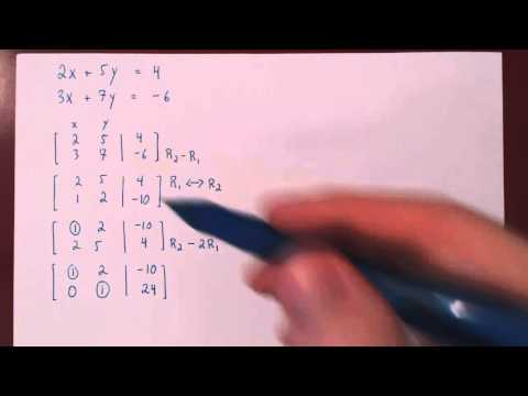 Gaussian Elimination - 1