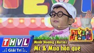 THVL   Thử tài siêu nhí - Tập 1: Mc & Múa hồn quê - Minh Hoàng (Ku Tin)