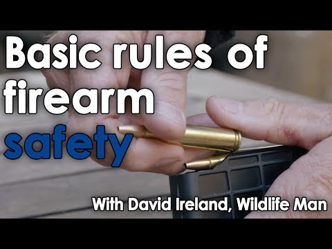 Basic Rules Of Firearm Safety