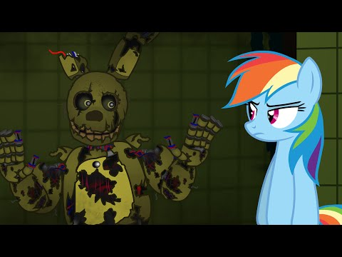 My Little SpringTrap - Horror is Magic - Five Nights at SpringTrap's (Late 30K Subs special)