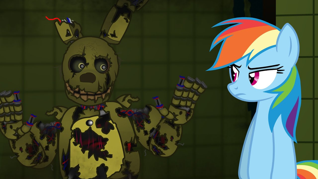 My Little Springtrap Horror Is Magic Five Nights At