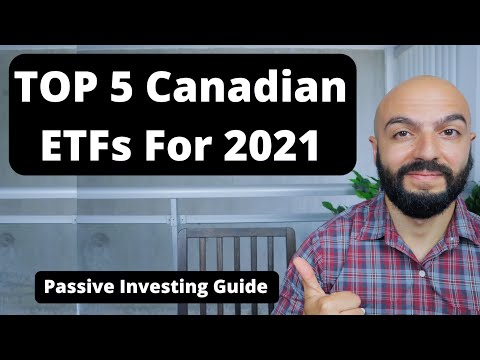 Top 5 Canadian ETFs for 2021 | Beginner Investment Guide