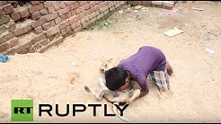 India: Meet Mohit, the 10-yr-old boy who feeds on dog milk
