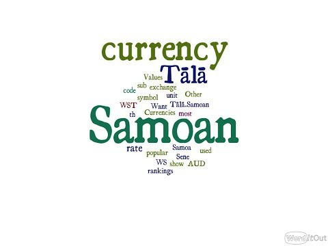 Samoan Currency - Tālā
