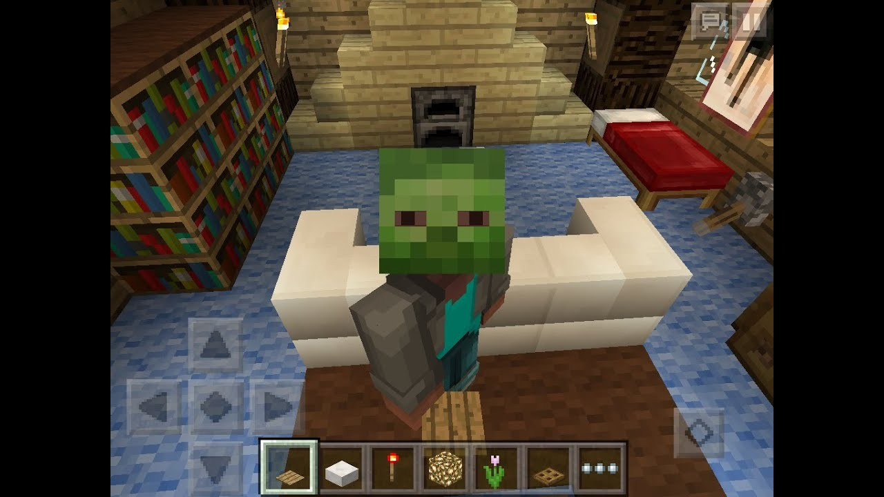 How To Decorate Your House For Beginner-minecraft Pocket Edition