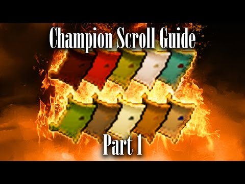 Champion Scroll Guide 1   Oldschool RS