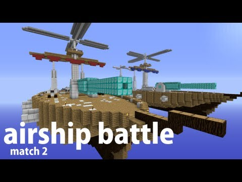 Minecraft Airship Battle (Match 2)