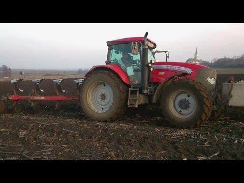 Szántás/Orka/Plowing/Ploughing - McCormick TTX 210 + Vogel & Noot - *MOTOR SOUND*