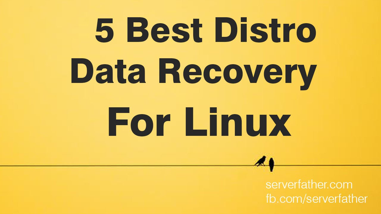 Data Recovery For Linux Best 5 OS Open Source Distro Linux