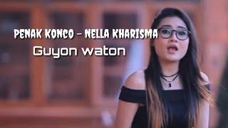 (Lirik) PENAK KONCO - OM WAWES & GUYON WATON Voc. NELLA KHARISMA