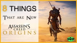 Assassin's Creed Origins  -  8 Things that are New