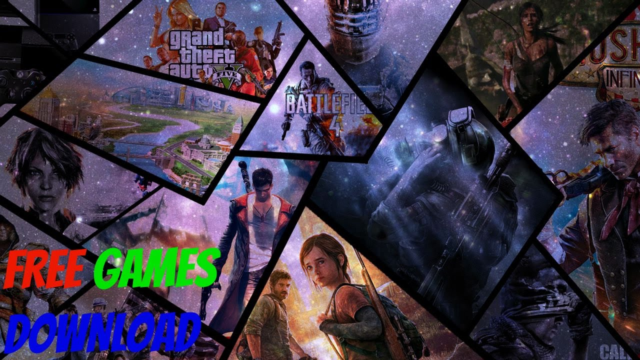 Website to download free games from gta v call of duty all games