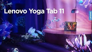 Lenovo Yoga Tab 11 - The ultimate video-watching tablet. Your mobile cinema.