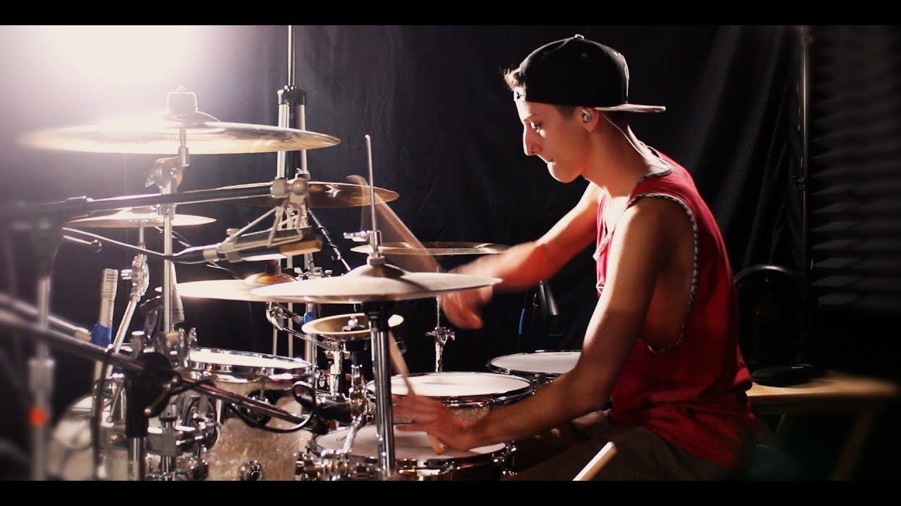 Calvin Harris - Blame - Ft John Newman - Drum Remix By Jacob Coleman