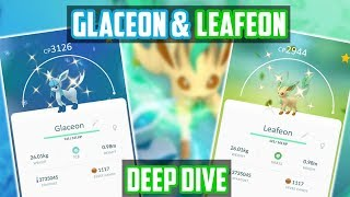 Glaceon & Leafeon Deep Dive In Pokemon Go! ~~~~~~~~~~~~~~~~~~~~~~~~...