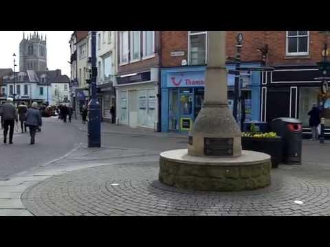 Town Centre, Melton Mowbray, Leicestershire