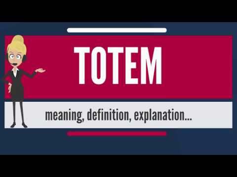 What is TOTEM? What does TOTEM mean? TOTEM meaning, definition & explanation