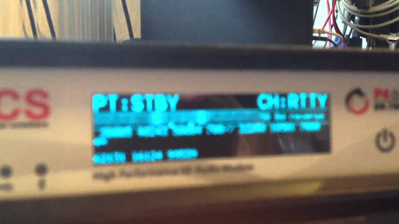 SCS Pactor 4 Dragon DR-7800 in use with Icom IC 7200 as Rtty Reader without  Computer
