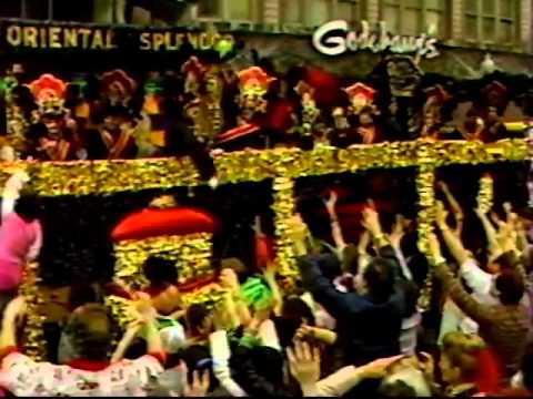 Mardi Gras Day New Orleans 1985 Part-2 TV News