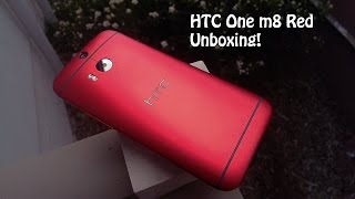Red Htc One M8 Unboxing With Beauty Geek & The Pug