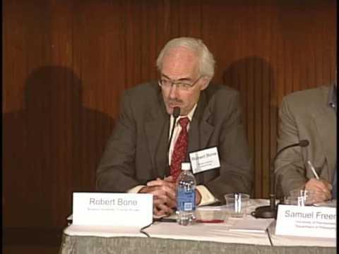 Justice for Hedgehogs: Professor Robert Bone