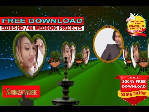 How To Free Download Edius Hindi 3D Project...sajan Sajan Teri Dulhan