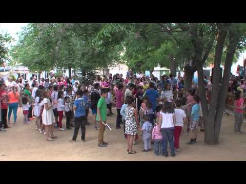 ENCIERRO INFANTIL EN LA FERIA DE MAYO 2015 ARROYO DE SAN SERVAN.