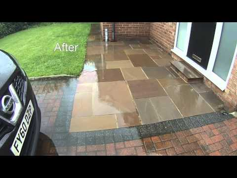 Pressure Washing Cleaning Services | Indian Flag-Stone Cleaning | Leeds | Yorkshire