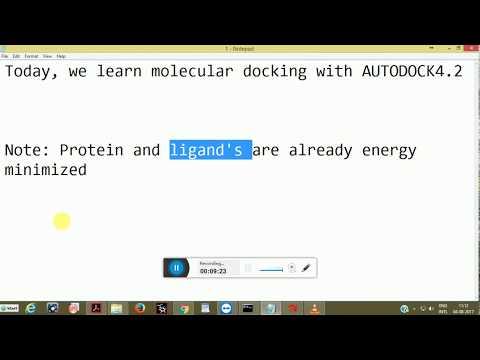 AutoDock 4: Molecular Docking