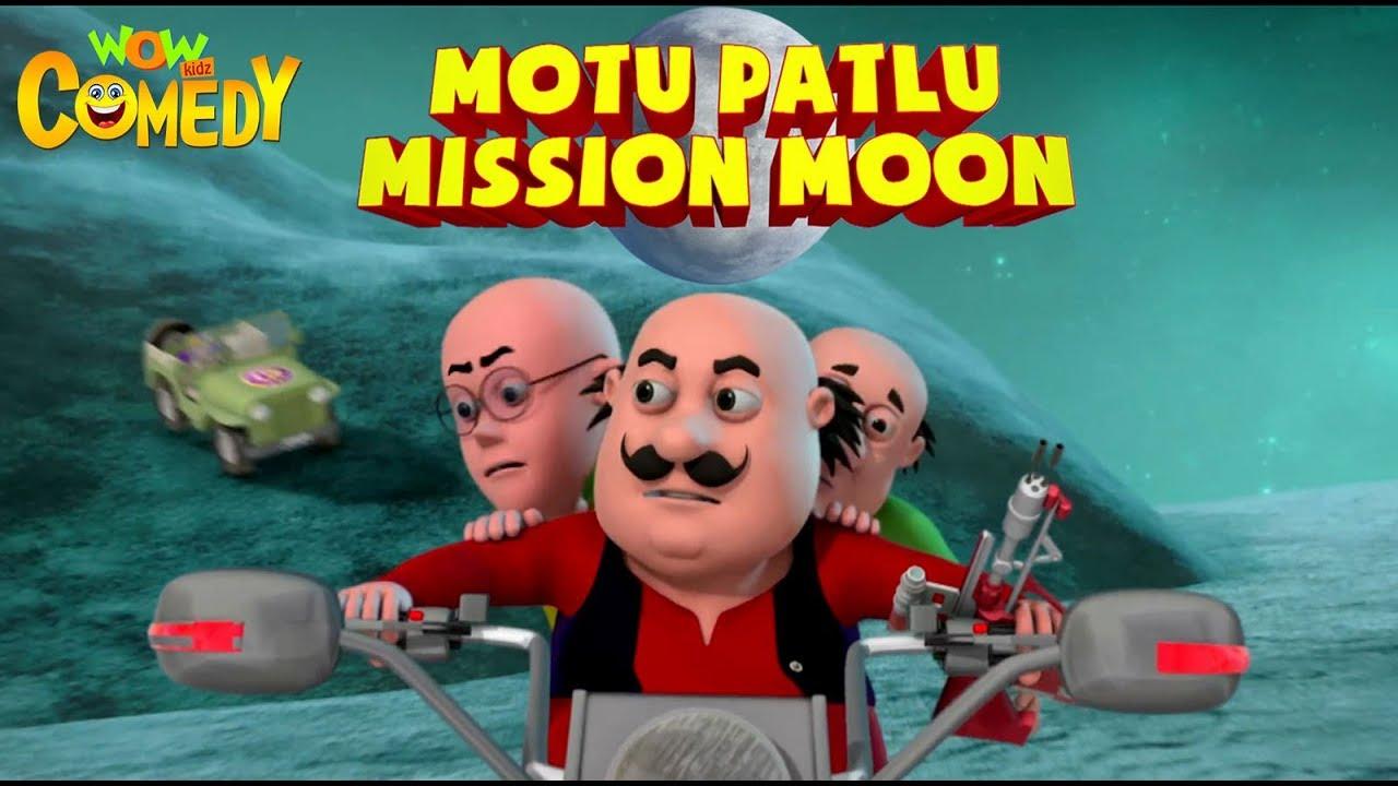 Motu Patlu Mission Moon Movie Kids Animation Wow Kidz Comedy