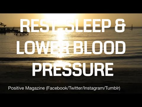 10 Minute Guided Meditation for Rest, Sleep and Lower Blood Pressure l ASMR